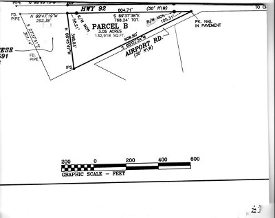 Mecklenburg County Residential Lots & Land For Sale: Hwy. 92 And Airport Rd.