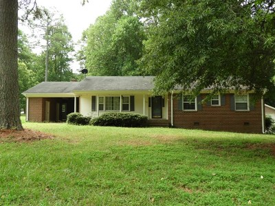 Mecklenburg County Single Family Home For Sale: 728 Marrow St
