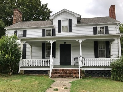 Mecklenburg County Single Family Home For Sale: 214 Fifth Street