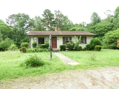 Mecklenburg County Single Family Home For Sale: 2541 Ridge Road