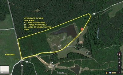 Mecklenburg County Residential Lots & Land For Sale: Meherrin River Road