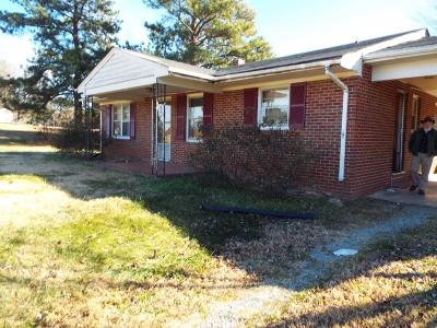 Halifax County Single Family Home For Sale: 12049 Mountain Rd.