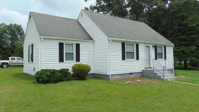 Halifax County Single Family Home For Sale: 3038 L.p.bailey Memorial Hwy