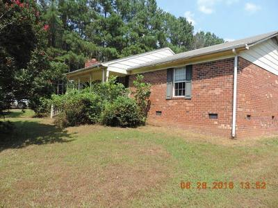 Single Family Home For Sale: 1024 Deep Run Road