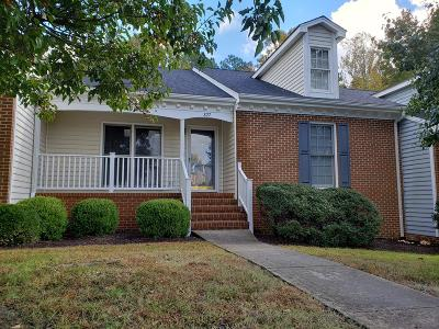 Mecklenburg County Single Family Home For Sale: 827 Lees Court