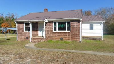 Halifax County Single Family Home For Sale: 2200 H.p. Anderson Road