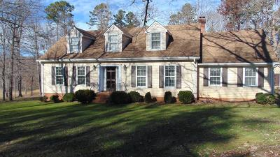 Halifax County Single Family Home For Sale: 3215 Virgilina Road