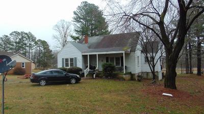 South Boston VA Single Family Home For Sale: $59,900