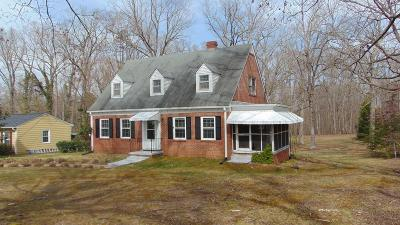 South Boston VA Single Family Home For Sale: $124,900
