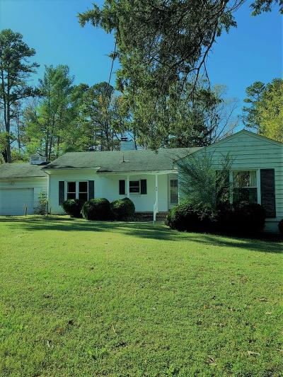 Halifax County Single Family Home For Sale: 412 Lakeside Dr