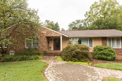 Single Family Home For Sale: 1610 Talley