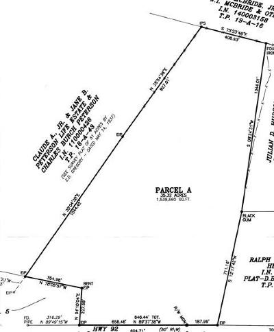 Mecklenburg County Residential Lots & Land For Sale: Highway 92
