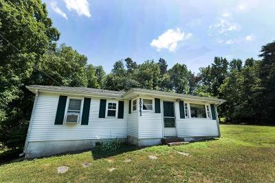 Single Family Home For Sale: 20941 Patrick Henry Hwy
