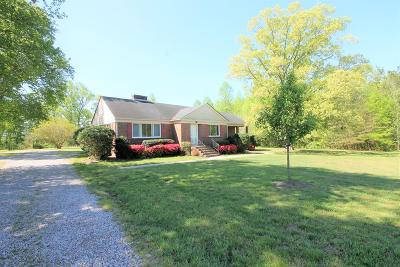 Single Family Home For Sale: 6134 Poorhouse Road