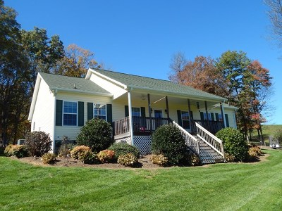 Galax Single Family Home For Sale: 203 Mopar Ln