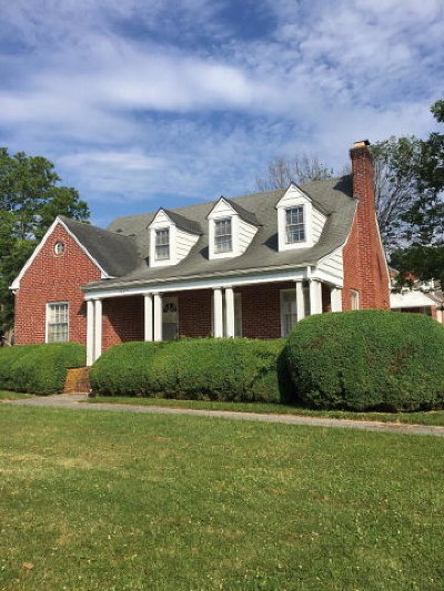 Chilhowie Single Family Home For Sale: 1125 Old Stage Road