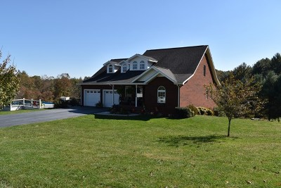 Galax Single Family Home For Sale: 96 Charger Ln