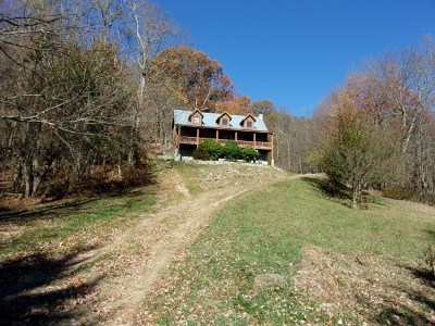 Grayson County Single Family Home For Sale: 848 Black Rock Mountain Lane