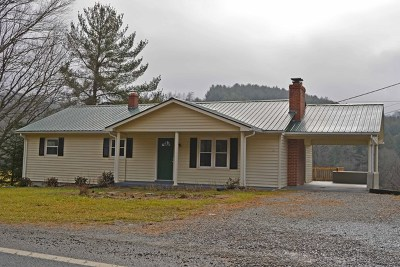 Single Family Home Sold: 1818 Pipers Gap Rd