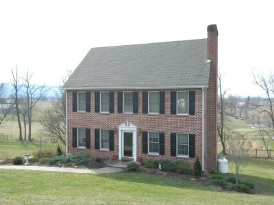 Chilhowie VA Single Family Home For Sale: $215,000