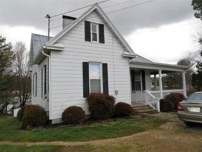 Abingdon VA Single Family Home For Sale: $159,900