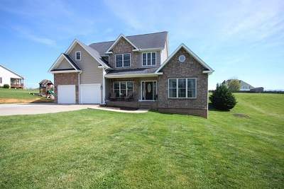 Bristol Single Family Home For Sale: 20594 Hedgerow Hill