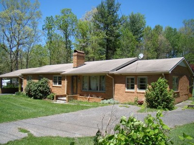 Hillsville Single Family Home For Sale: 704 Airport Rd