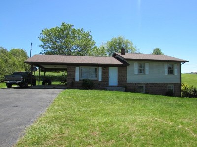 Rural Retreat Single Family Home For Sale: 179 Sunset View Rd