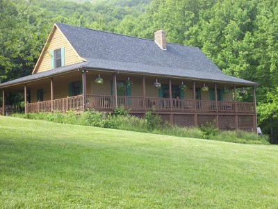 Grayson County Single Family Home For Sale: 100 Black Rock Mountain Lane