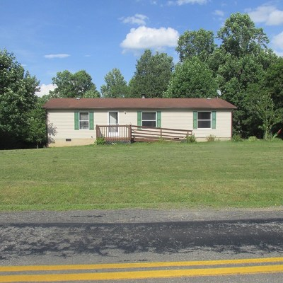 Galax Manufactured Home For Sale: 48 Iron Ridge Rd