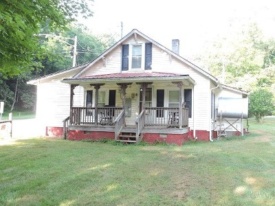 Galax Single Family Home For Sale: 115 Branch St