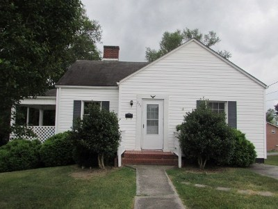 Wytheville Single Family Home For Sale: 755 4th St