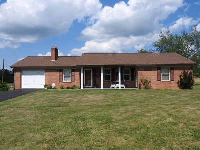 Galax Single Family Home For Sale: 2501 Fairview Road
