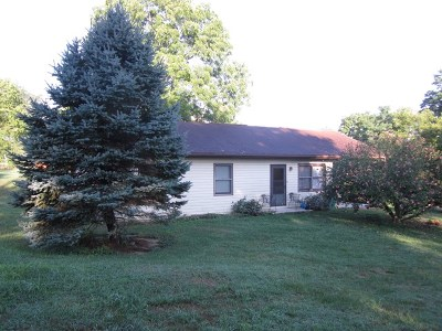 Wytheville Single Family Home For Sale: 1205 Railroad Ave