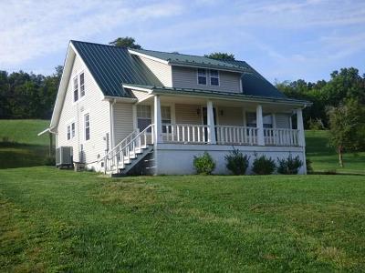 Wytheville Single Family Home For Sale: 3802 Grayson Tpke