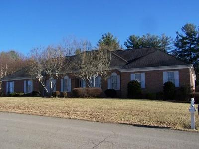 Galax Single Family Home For Sale: 315 Fox Run Drive