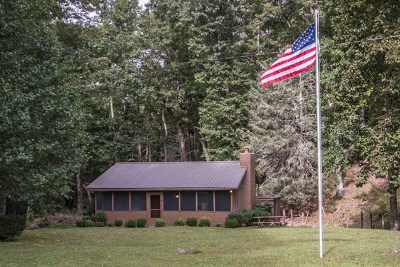 Chilhowie Single Family Home Active Contingency: 17541 Burnt Cabin Trail
