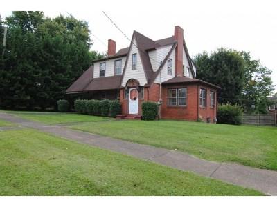 Bristol VA Single Family Home For Sale: $98,900