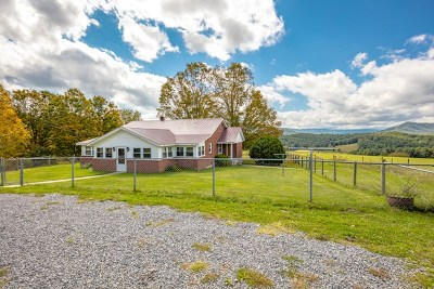 Bland Single Family Home For Sale: 636 Flat Top Rd.