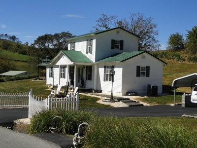 Saltville Single Family Home For Sale: 523 Possum Hollow Rd.