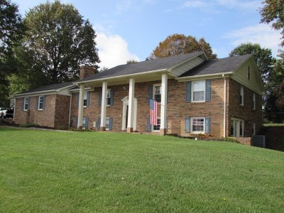 Wytheville Single Family Home For Sale: 505 Sherwood Forest Rd