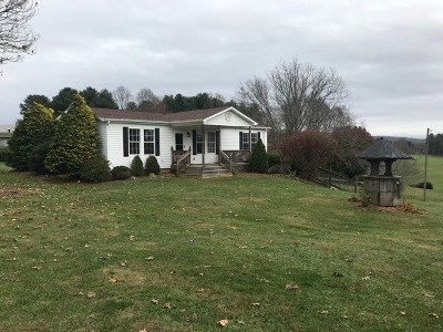 Carroll County, Grayson County Manufactured Home For Sale: 1495 Double Cabin Rd