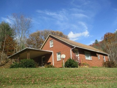 Grayson County Single Family Home For Sale: 1846 Potato Creek Road