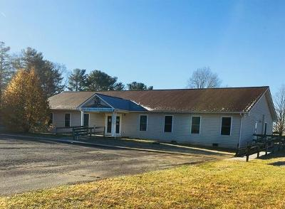 Galax Commercial For Sale: 101 Jack Guynn Dr