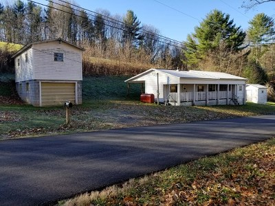 Chilhowie Manufactured Home For Sale: 693 Belle Hollow Road