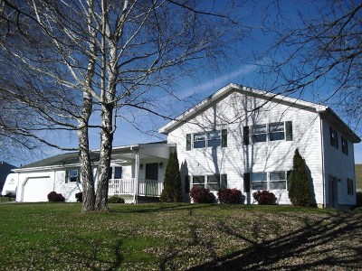 Chilhowie Single Family Home For Sale: 15605 Bishop Rd