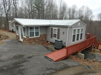 Galax Manufactured Home For Sale: 281 End Of The Lane