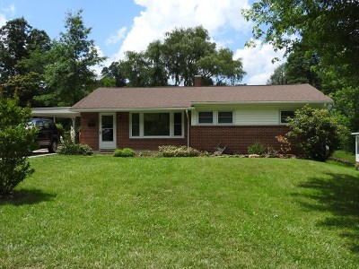 Galax Single Family Home For Sale: 108 Sunset Dr