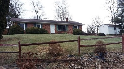 Wytheville Single Family Home For Sale: 2338 Fairview Parkway
