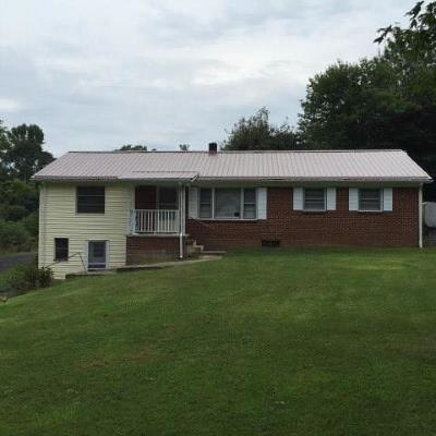 Carroll County, Grayson County Single Family Home For Sale: 12043 Troutdale Hwy